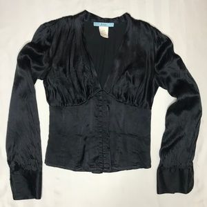 MARCIANO SILK BLOUSE